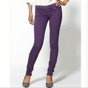 CURRENT/ELLIOTT - NWT The Skinny Jeans - Purple